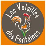 Les volailles des fontaines Logo